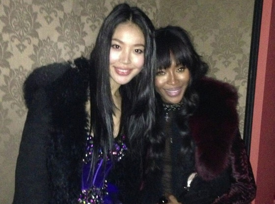 Luo Zilin, Naomi Campbell Twitter