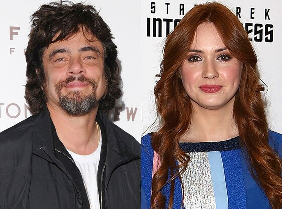 Benicio del Toro, Karen Gillan