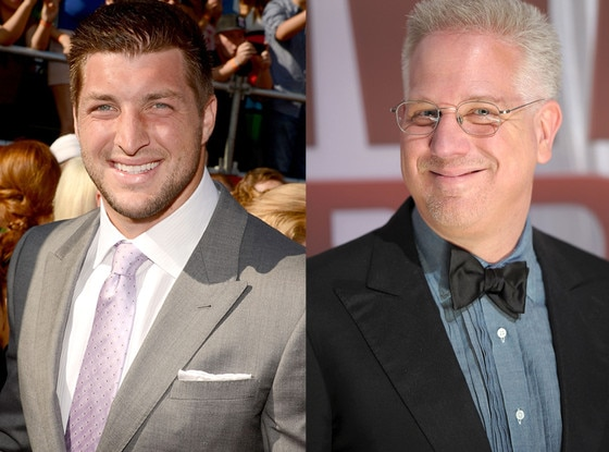 Tim Tebow, Glenn Beck