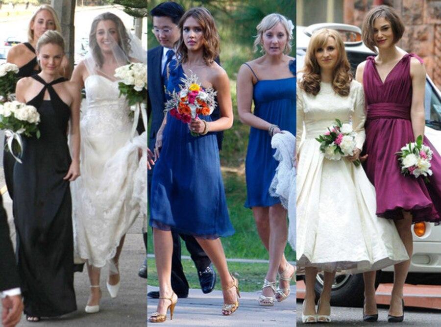 Celebrity Bridesmaids Split