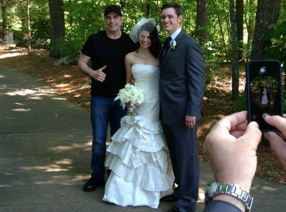 John Travolta, Wedding