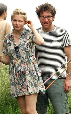 Michelle Williams, Dustin Yellin