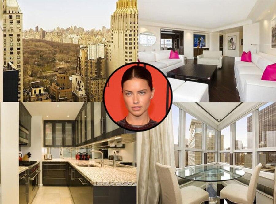 Adriana Lima, New York Apartment