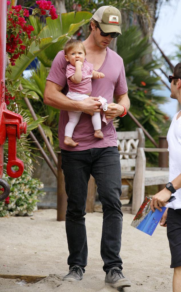 Chris Hemsworth, India Rose