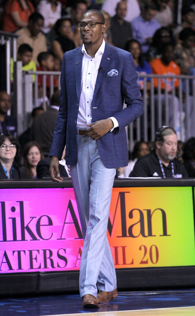 Kevin Durrant From Best Dressed Nba Players E News