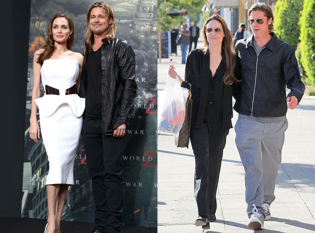 Stylish Couples, Brad Pitt, Angelina Jolie