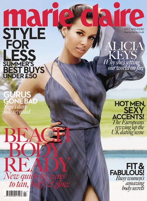 Alicia Keys, Marie Claire UK