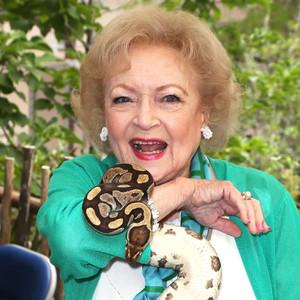 Betty White, Snake