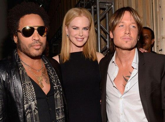 Lenny Kravitz, Nicole Kidman, Keith Urban
