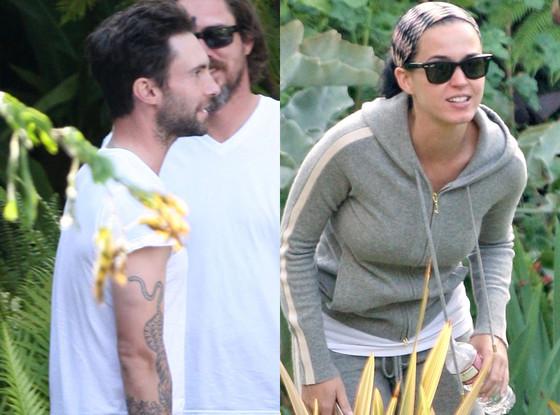 Adam Levine, Katy Perry