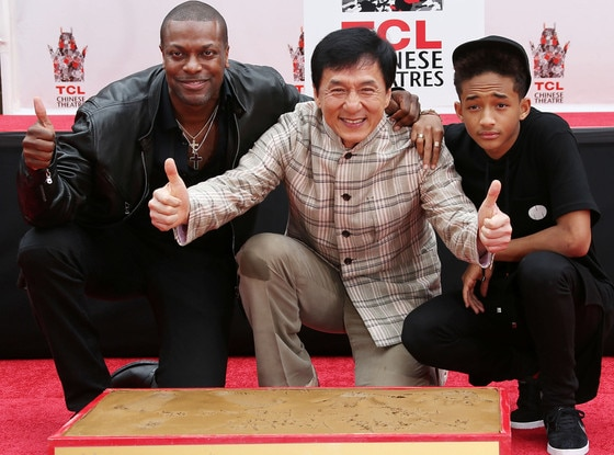 Chris Tucker, Jackie Chan, Jaden Smith