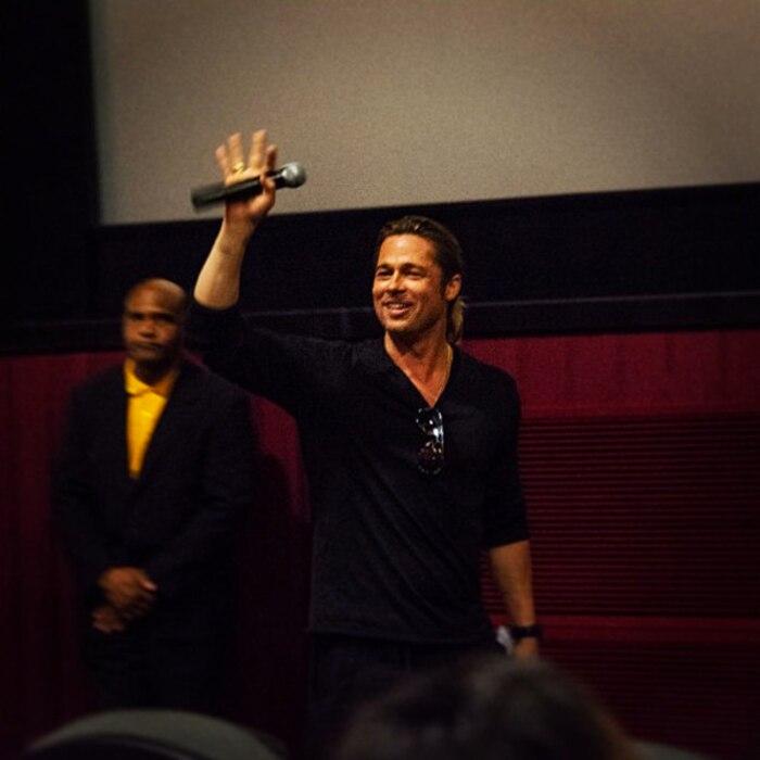 Brad Pitt, Atlanta