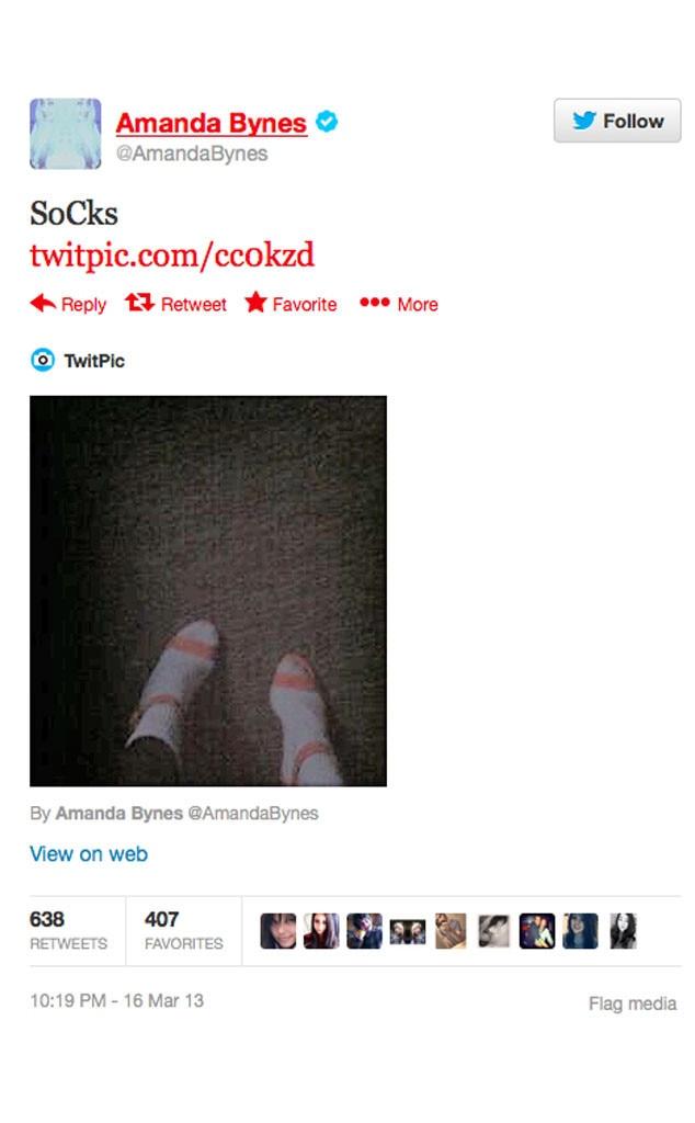 Amanda Bynes, Tweet