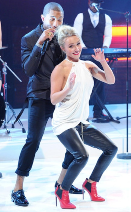 Hayden Panettiere, Pharell, Robin Thicke, The Graham Norton Show