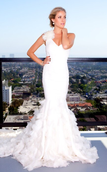Kristin Cavallari, Wedding Dress