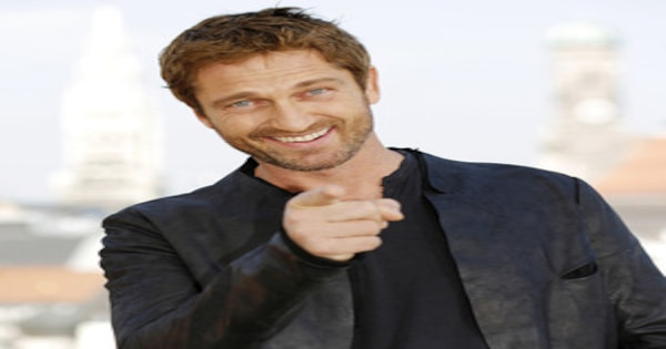Gerard Butler Cracks Walnut With Butt, Pours Ice Down His Pants ...  Gerard Butler