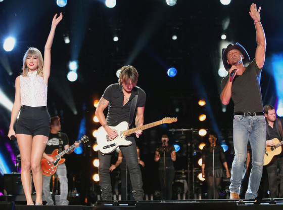 Taylor Swift, Keith Urban, Tim McGraw