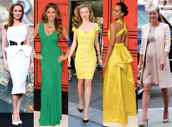Best Dressed: Angelina Jolie, Sofia Vergara, Miranda Kerr, Kerry Washington, Kate Middleton
