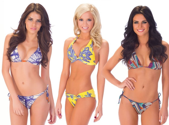 Miss USA 2013, California, Arkansas, Texas