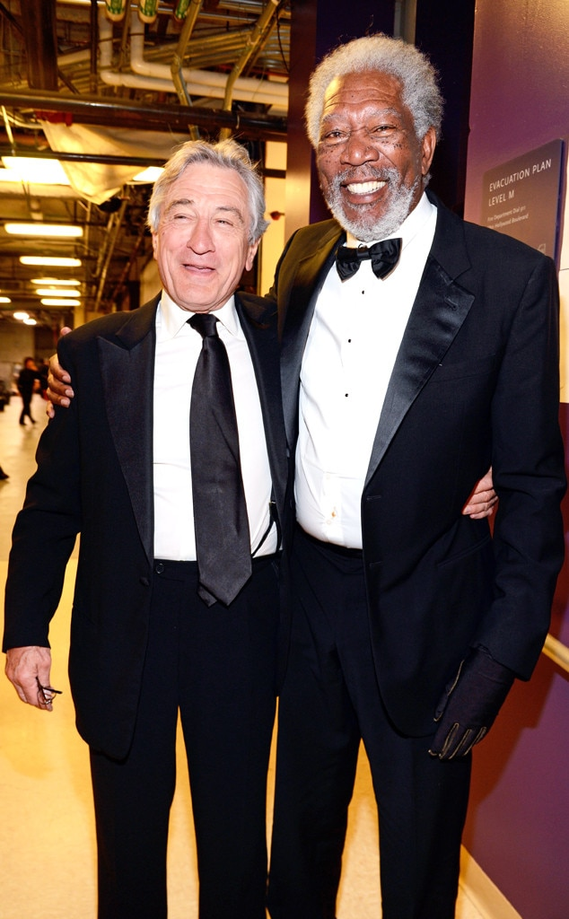 Robert De Niro, Morgan Freeman