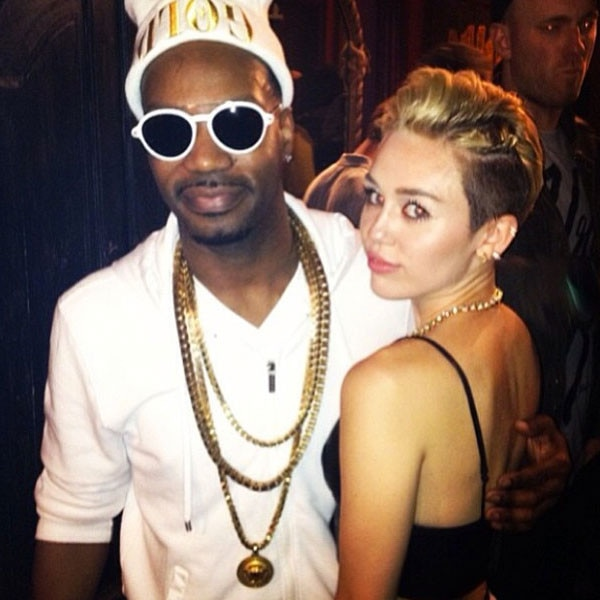 Miley Cyrus, Juicy J Instagram
