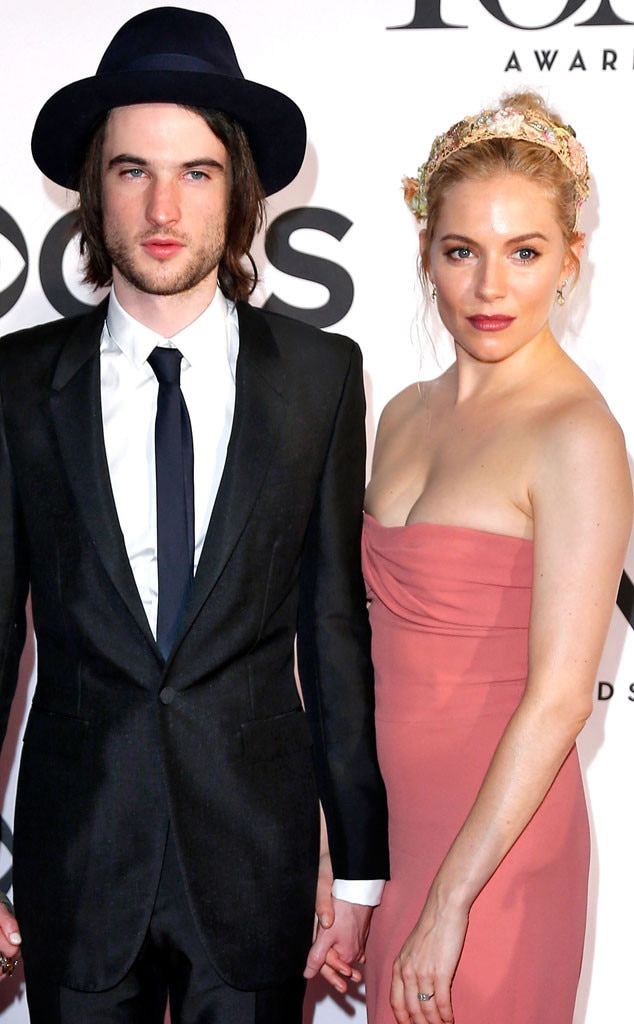 Tom Sturridge, Sienna Miller, Tony Awards