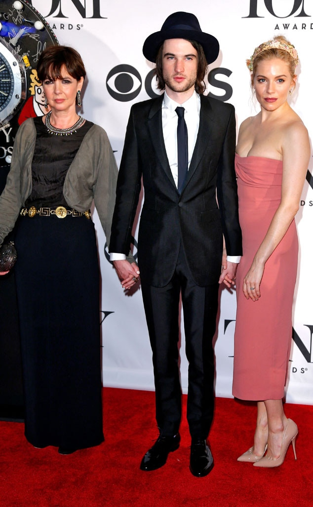 Phoebe Nicholls, Tom Sturridge, Sienna Miller, Tony Awards