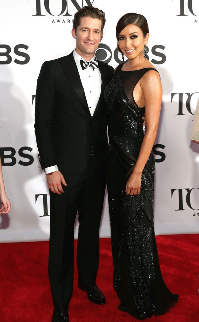 Matthew Morrison, Renee Puente, Tony Awards