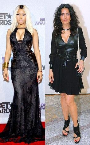 Nicki Minaj, Salma Hayek