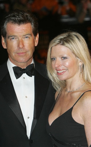 Pierce Brosnan, daughter