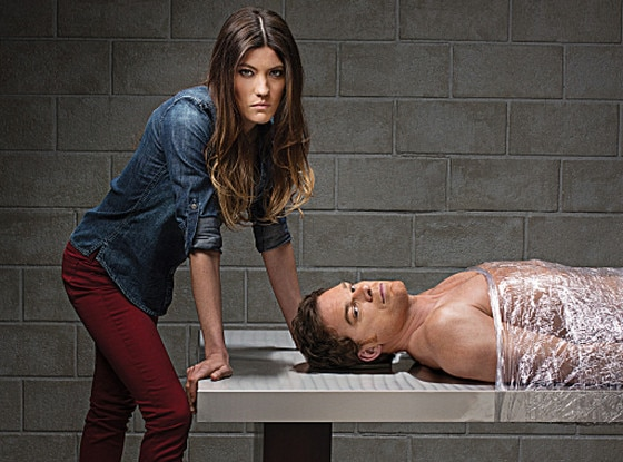 Jennifer Carpenter, Michael C. Hall, Dexter