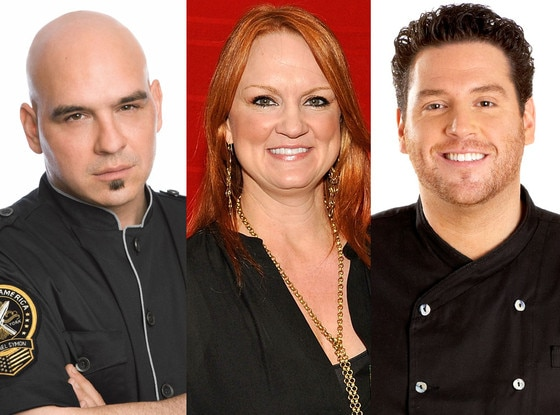 Scott Conant, Chopped, Ree Drummond, Pioneer Woman, Michael Simon, Iron Chef