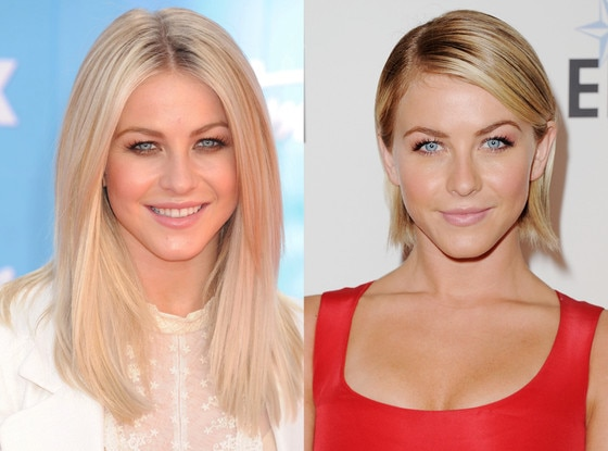 Julianne Hough, Hair