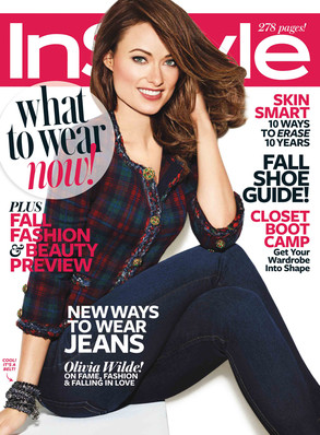 Olivia Wilde, InStyle Cover