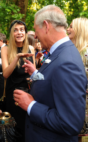 Cara Delevingne, Prince Charles, Prince of Wales