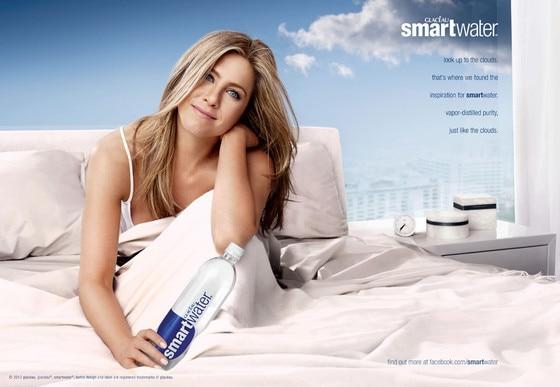 Jennifer Aniston, Smartwater Campaign