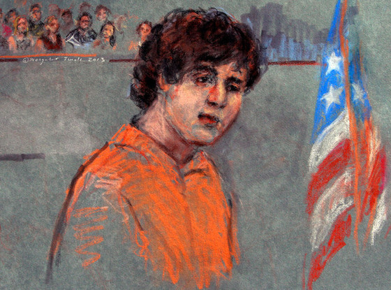 Boston Marathon bombing suspect Dzhokhar Tsarnaev