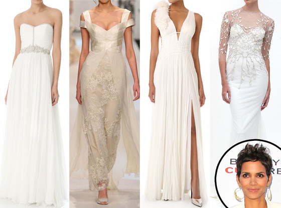 Halle Berry Bridal Dress Predictions