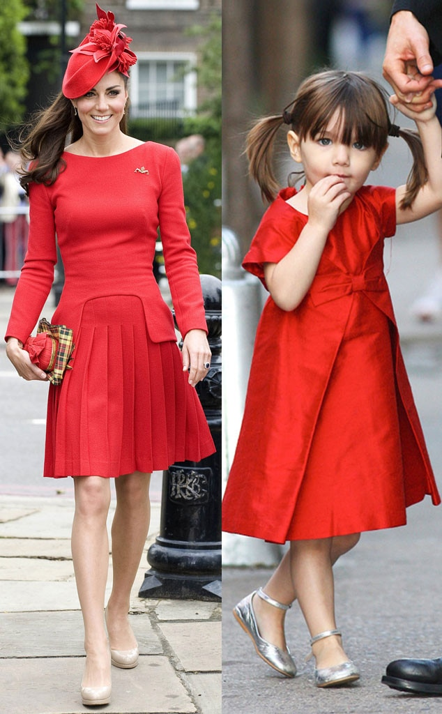 Catherine, Duchess of Cambridge, Kate Middleton, Suri Cruise