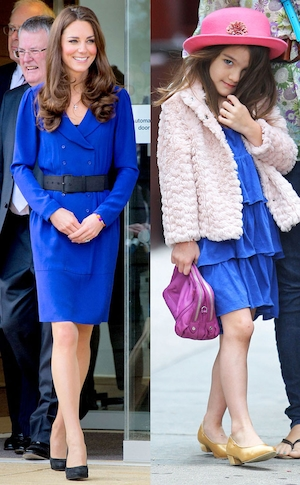 Suri Cruise, Duchess Catherine, Kate Middleton