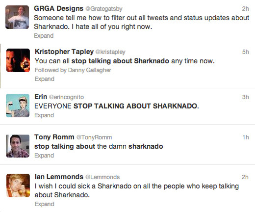 Stop talking about Sharknado