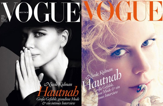 German Vogue, Nicole Kidman