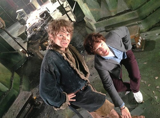 Martin Freeman, Benedict Cumberbatch, The Hobbit