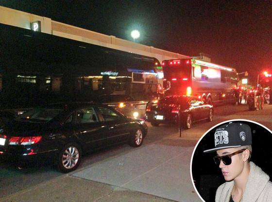 Justin Bieber, Tour Bus, Broad Ripple, The Vouge