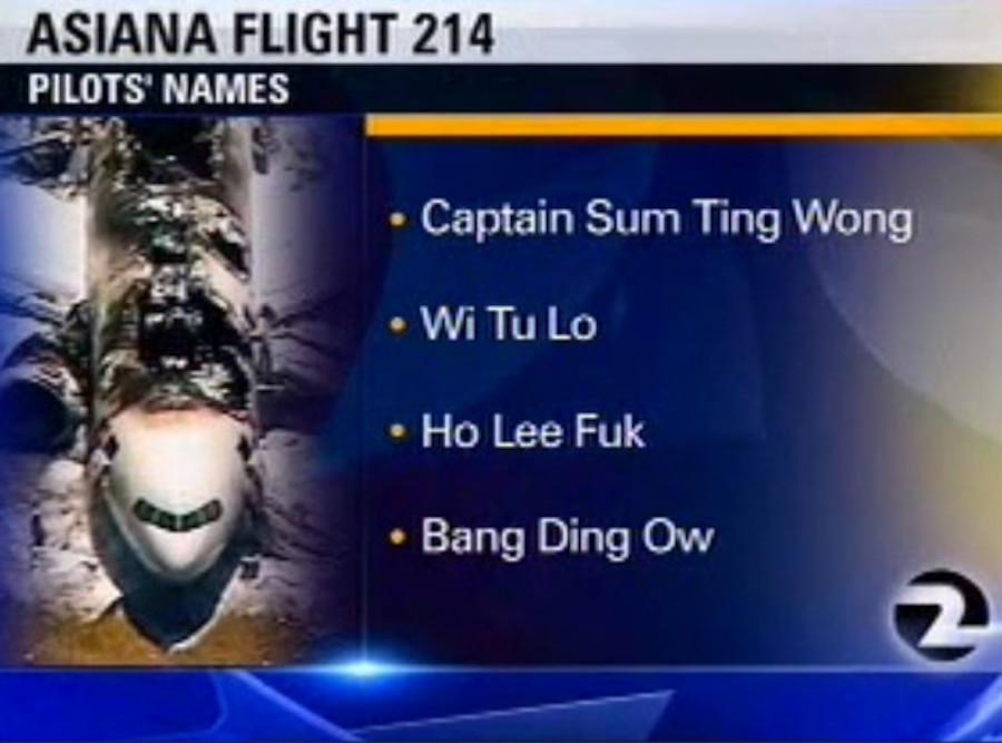 KTVU Pilot Names