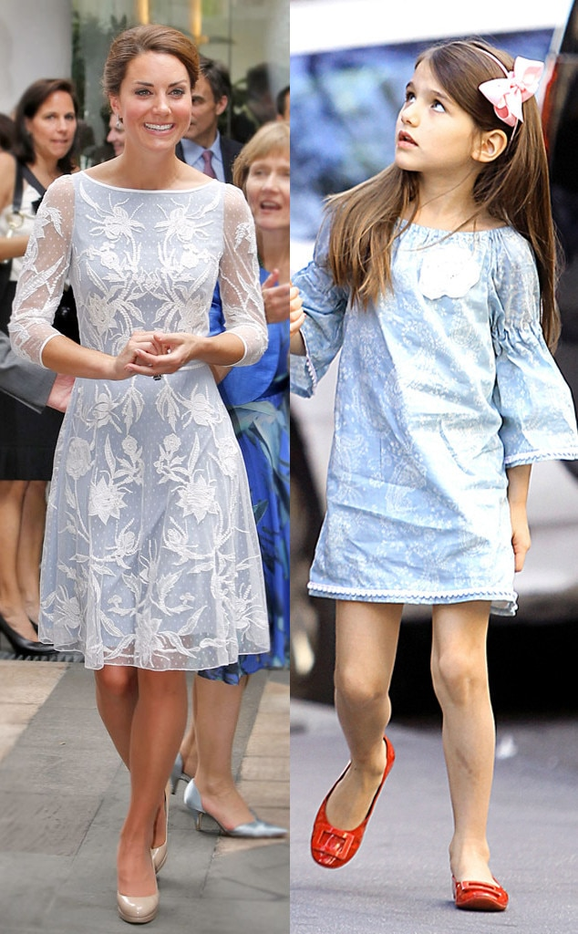 Kate Middleton, Duchess Catherine, Suri Cruise