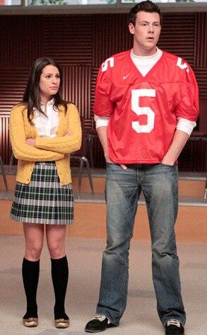 Glee, Lea Michele, Cory Monteith