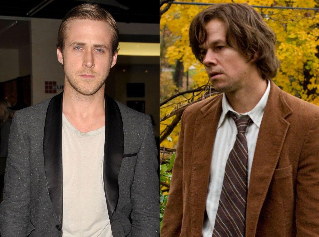 Ryan Gosling, Mark Wahlberg, Roles Recast