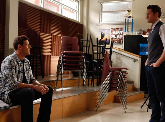 Matthew Morrison, Cory Monteith, Glee