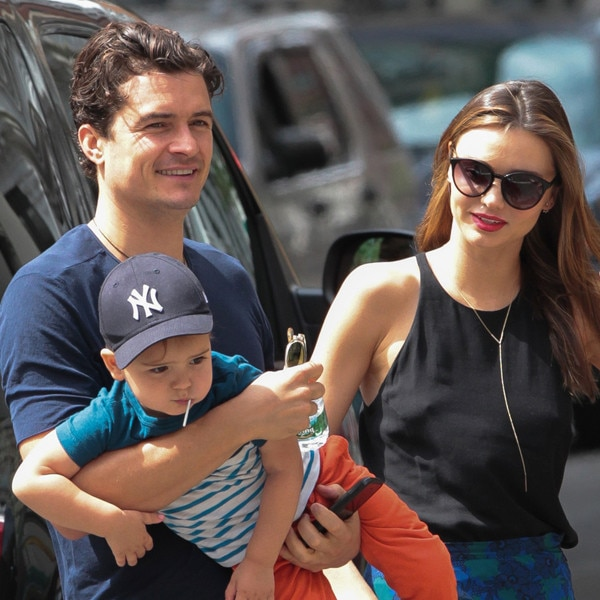 Orlando Bloom, Miranda Kerr, Flynn Bloom